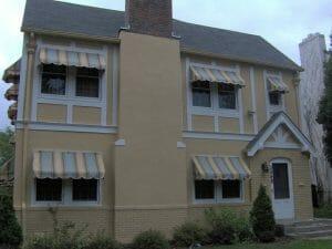 Custom window awnings meet homeowner's needs