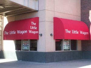 Little Wagon Curved Awning