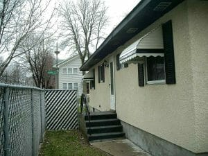 Aluminum Awnings Side of House