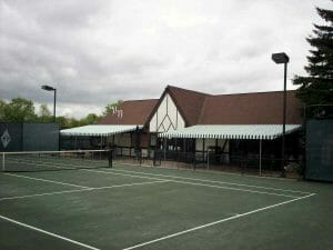 Country Club Tennis Court Awnings