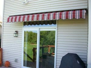 Motorized Awning Retracted