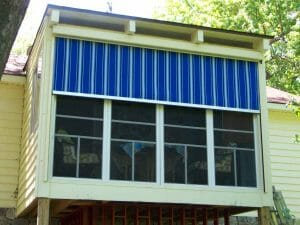 Motorized Porch Curtain