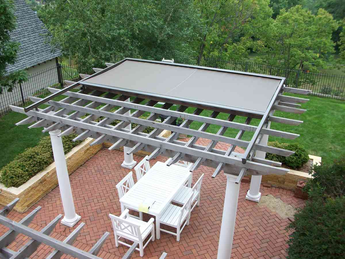 Retractable Patio Cover Opening