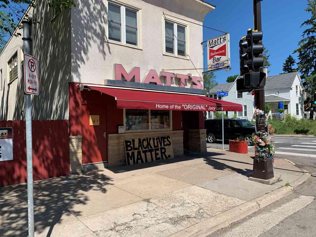 Matt's Bar Motorized Awning