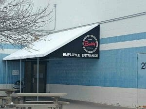 After View of Employee Canopy in Lakeville