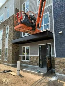 Entrance Canopy Twin Cities