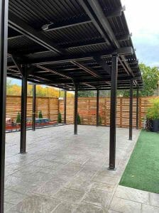 Covered Patio Twin Cities