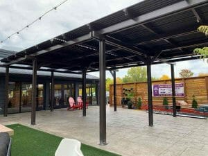 Dukes Louvered Roof
